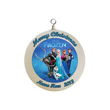 ornaments frozen ornaments personalized