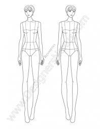 fashion sketches template exol gbabogados co
