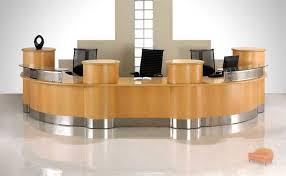 desk for 3 people reception desks