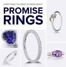 promise ring vs engagement ring everything you need to about promise rings mountz