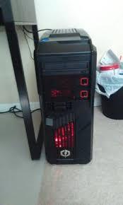 Walmart Desk Computers by Cyberpowerpc Black Red Gamer Ultra Gua3400w Desktop Pc With Amd