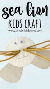 sea lion kids craft brie brie blooms