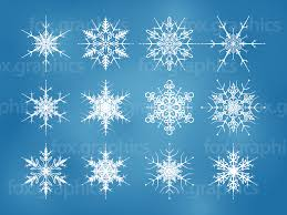 Beautiful Decoration Element Beautiful Vector Snowflakes Fox Graphics
