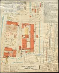 bates map bates manufacturing company hill division lewiston maine