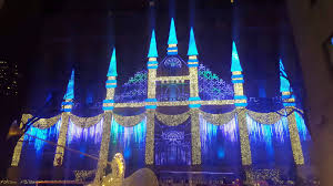 saks fifth avenue lights saks fifth avenue new york christmas light show 2015 youtube