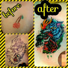cover up tattoo done by that twiztid freek over in alvarad u2026 flickr