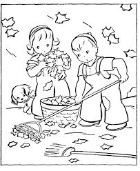 fall coloring book kids coloring