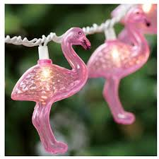 pink flamingo patio lights 10 led pink flamingo string light set just pink about it
