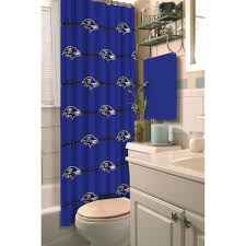 nfl baltimore ravens decorative bath collection shower curtain nfl baltimore ravens decorative bath collection shower curtain walmart com