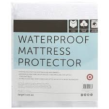 waterproof mattress protector target australia