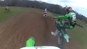 motocross race today kawasaki kx250f gopro hd whitby motocross race 2 youtube