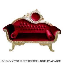 canape baroque baroque velours et bois doré