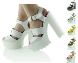 boots sale uk ebay cut out chunky sandals high heel platform summer shoes uk 3