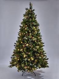 Artificial Pre Lit Christmas Trees Uk