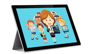 smart class app tablet classroom management software radix