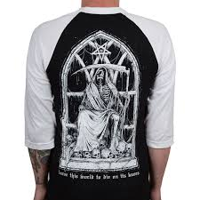 Black Flag Baseball Tee Carnifex