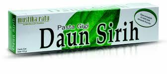 Pasta Gigi produk daun sirih tooth paste mustika ratu