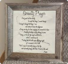 serenity prayer picture frame frame serenity prayer frames and prints serenity