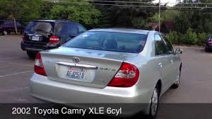 02 toyota camry xle 2002 toyota camry xle