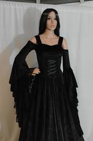 gothic dress renaissance dress medieval dress handfasting gown