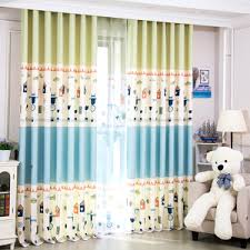 Blue And Yellow Curtains Prints Blue Damask Embroidery Poly Cotton Blend Insulated Beautiful