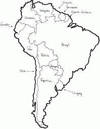 Latin And South America Map by South America Map Coloring Pages High Quality Coloring Pages