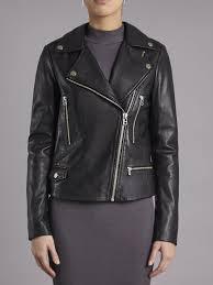 Black Leather Biker Jacket