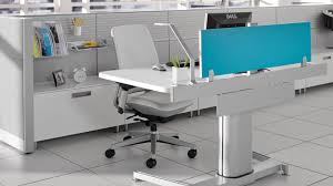 steelcase sit stand desk airtouch office outfitters planners inc