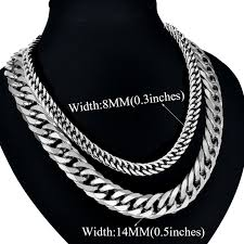 colored chain link necklace images Abjcoin decentralized marketplace men 39 s thick silver chains jpg