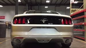 axle back exhaust mustang v6 2015 roush v6 axle back mustang exhaust