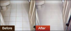 cleaning dirty bathroom tiles grout u0026 tile rinse groutrageous step 2 removes grout haze