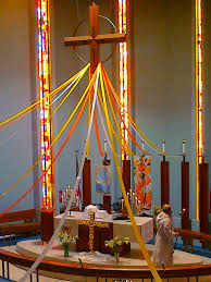 Easter Sunday Altar Decorations by Church Decorations Picmia