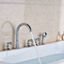 Three Handle Bathtub Faucets Compare Prices On Bathtub Faucet Sprayer Online Shopping Buy Low
