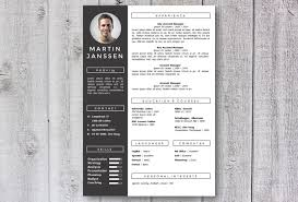 modern resume sles images modern resume template cv template get noticed creative