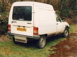 old peugeot van vintage thing no 44 the citroen c15d engine punk