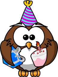 Owl Birthday Meme - green owl party clipart