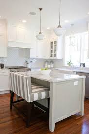 Upholstered Kitchen Bench With Back Best 25 Counter Height Bench Ideas On Pinterest Bar Bench