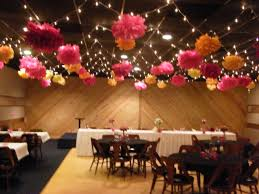 Flower Decor Tissue Paper Flowers For Wedding Reception Decor Pink And