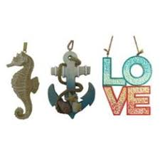 tropical reef seahorse tiki christmas 4 inch ornament