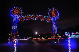 The Best Christmas Light Displays by Best Oklahoma City Christmas Lights
