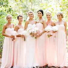 simple wedding dresses for brides blush pink bridesmaid gown pretty bridesmaid dresses blush pink