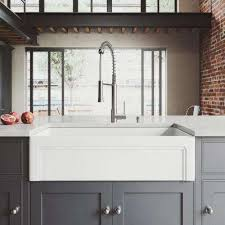 stainless steel apron sink farmhouse apron kitchen sinks kitchen sinks the home depot