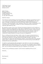 Thank You Letter After Interview Current Employer Letter Examples Umd