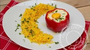 cuisiner le poivron poivrons farcis au thon et à l oeuf recette par ladymilonguera