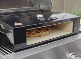 turn your grill into an outdoor gas pizza oven consumer reports
