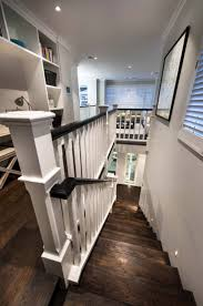 Transitional Style - decor transitional style with stairs and hand railing plus wooden