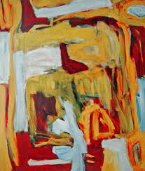 Colorful Painting by 1993 U0027the Gate Again U0027 Abstract Expressionist Colorful P U2026 Flickr