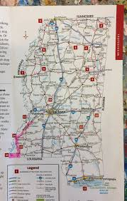 Louisiana Highway Map States 1 U0026 2 Mississippi U0026 Louisiana February 2017 U2014 Susanna Bluhm