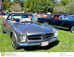 classic mercedes convertible vintage mercedes benz convertible editorial image image 26878955