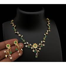 gold plated necklace images Shop gold plated necklace set online jpg